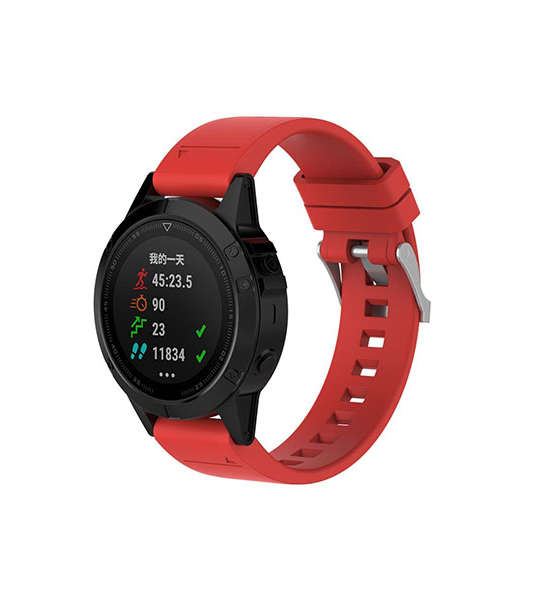 Replacement Silicone Garmin Fenix 5 Watch Bands with Buckle