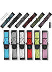 Nike Style Dual Colors Replacement Silicone Garmin Vivoactive HR Watch Bands with Screwdrivers