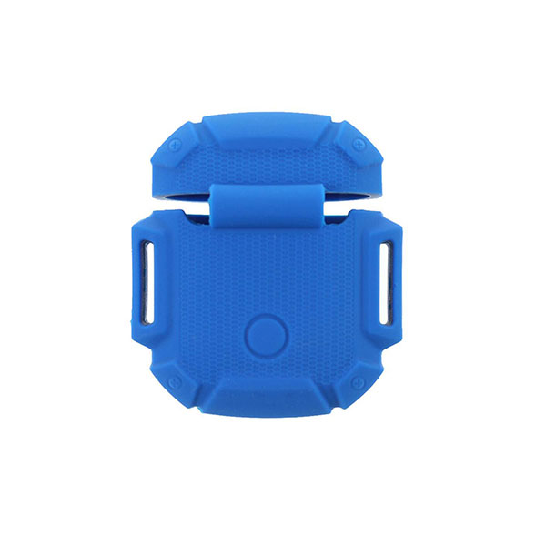 Pure Color Silicone Robot AirPods Case Cover