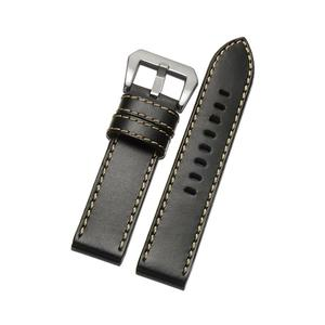 20mm/22mm Genuine Leather Watch Bands with Buckle