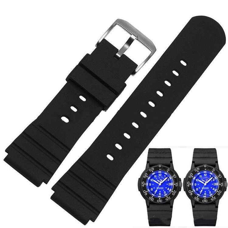 22mm Watch Bands Silicone Smart Watch Bands with Buckle Universal Watch Bands