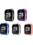 Transparent/Clear Color Fitbit Versa Watch Cover Case For Fitbit Versa Watch