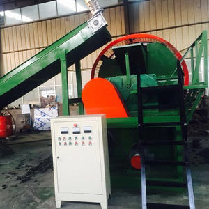 China Tyre scrapping machine factory