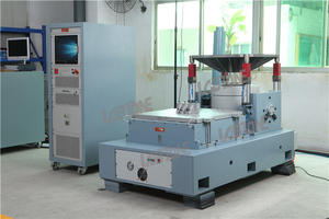 Vertical And Horizontal Slip Table Vibration Test System With ISTA MIL-STD Standard