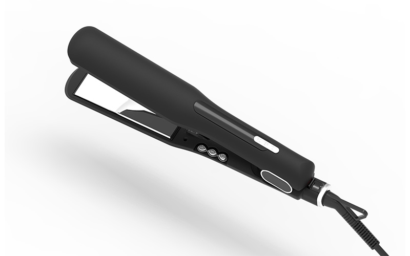 titanium hair straightener