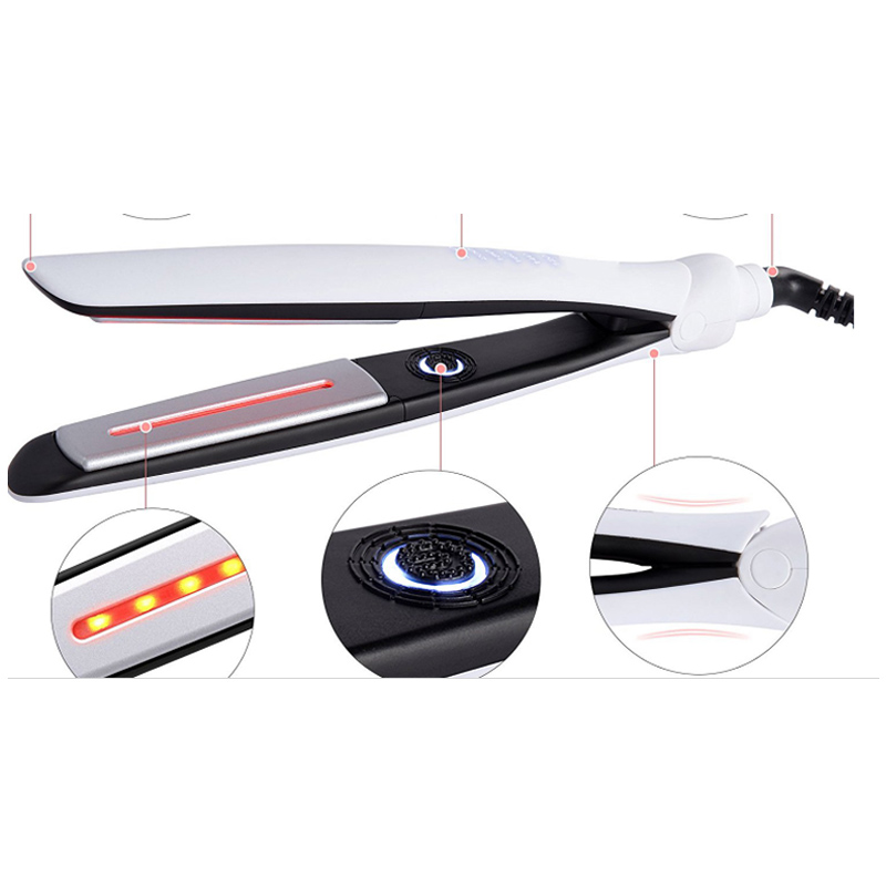hair straightener infrared
