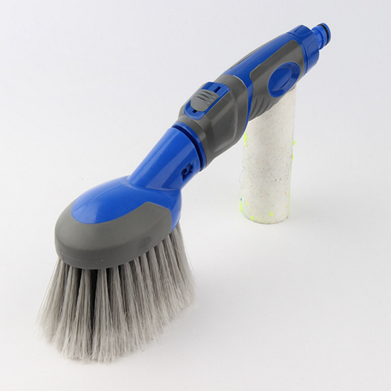water flow-thru wash brush easy for car dirt washing and cleaning