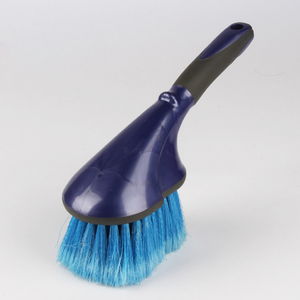 Hot selling plastic car wheel brush factory, car cleaning brush supplier