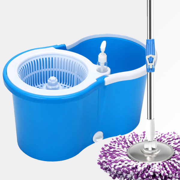 washing Hand Free Easy Use Self-washed 360 Magic mop spin Mop and bucket