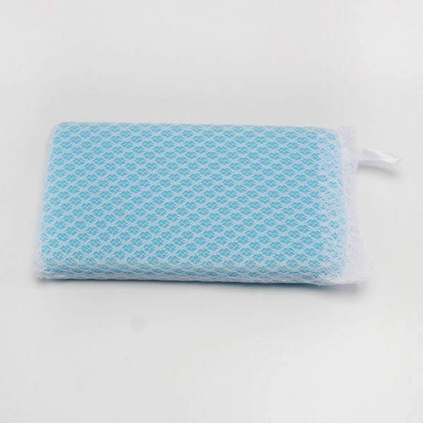mesh cleaning sponge for kitchen dish washing sponge