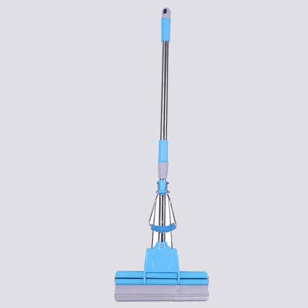 3 rollers sponge floor cleaning PVA mops