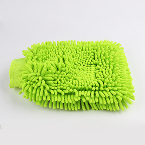 advanced chenille wash mitt,  chenille glove, car wash glove exporter