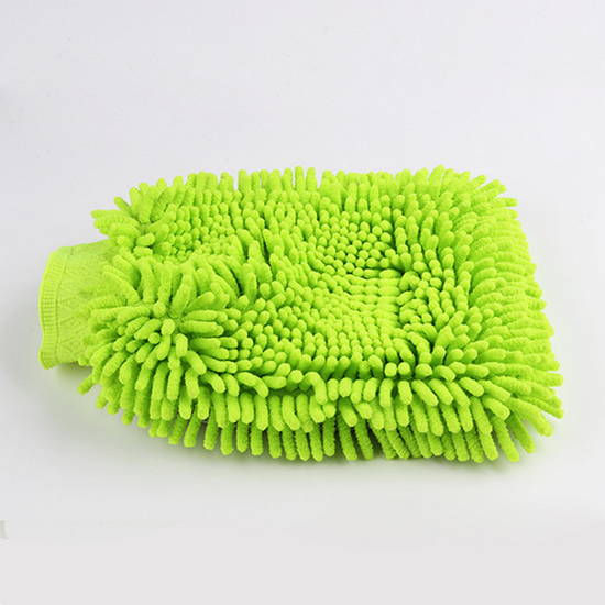 chenille wash mitt car cleaning glove