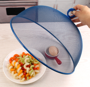 mesh food cover,  round metal food cover, factory direct sales food cover
