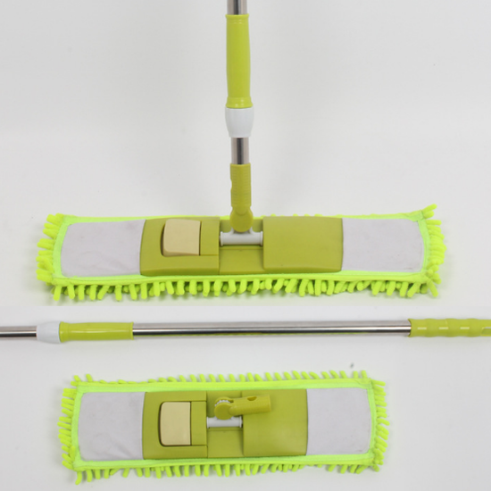 wholesale foldable chenille flat mop for floor cleaning tools