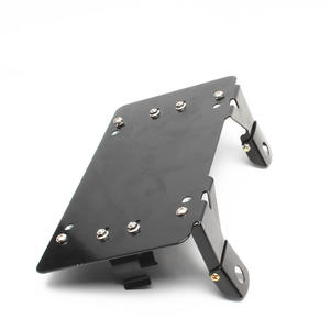 Flip-Up License Plate Bracket Holder For Winch Roller Fairlead