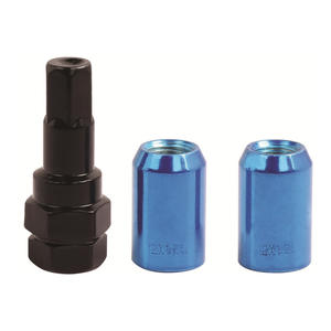 customized wholesale high quality Open end lug nut  manufacturer
