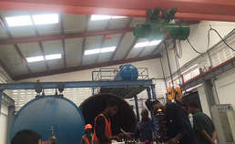 Our joint venture transformer factory built in Tanzania