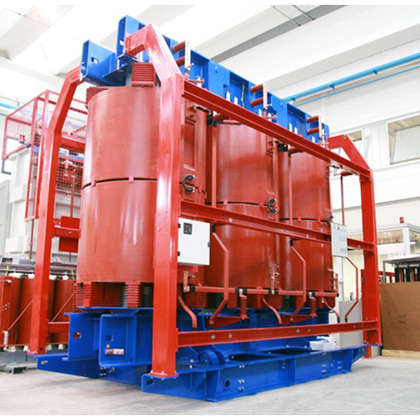 Cast resin power transformers