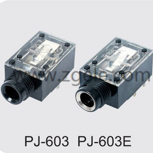 Low price audio out mini jack supplier,PJ-603 PJ-603E