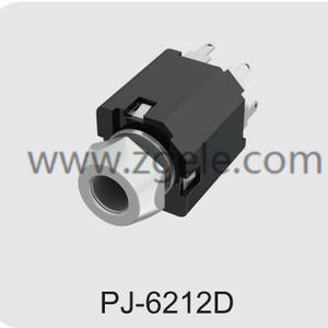wholesale audio out mini jack manufactures,PJ-6212D