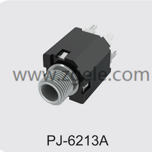 custom-made 6.35 audio jack connection Agency,PJ-6213A