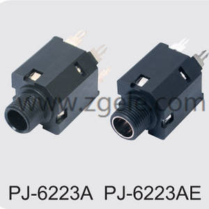 Low price 6.35 phone jack Factory,PJ-6223A PJ-6223AE