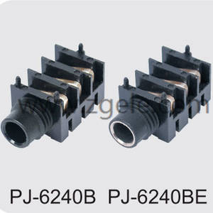 High quality 6.35 audio jack supplier,PJ-6240A PJ-6240AE