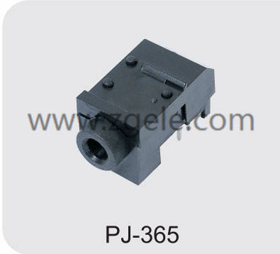 High quality stereo headphone jack manufactures,PJ-365