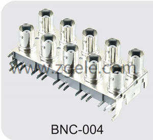 Low price mini bnc to bnc adaptor factory