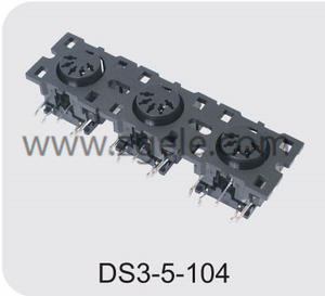 High quality 3 pin din connector brands