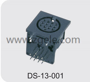 High quality 8 pin mini din connector manufactures
