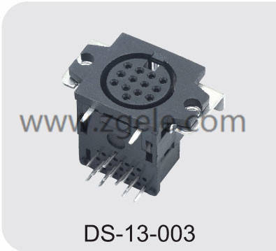 High quality micro din connector supplier,DS-13-003
