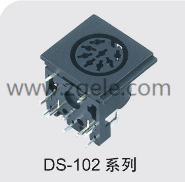 High quality mini din connector manufactures,DS-102
