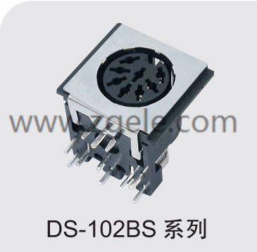 High quality din jack manufactures,DS-102BS