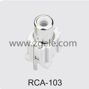 High quality bnc to rca adapter supplier,RCA-103