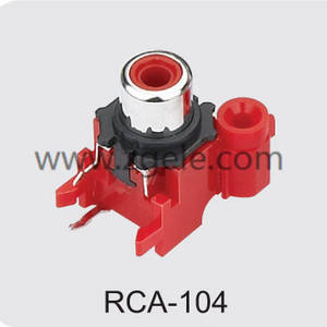 High quality audio jack connector supplier,RCA-104