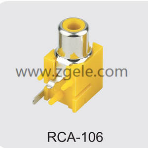 Low price rca to audio jack factory,RCA-106