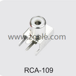 Low price rca to rca audio cable factory,RCA-109
