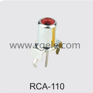 cheap solderless rca connector supplier,RCA-110
