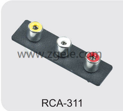 High quality bnc to rca adapter factory,RCA-311