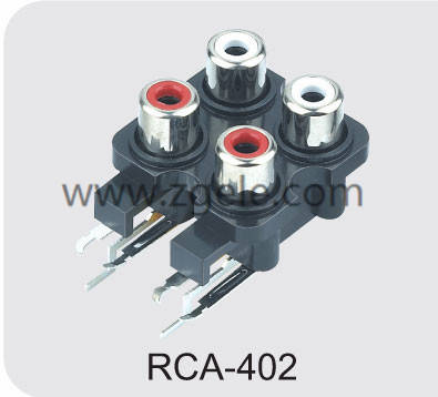 Low price audio jack supplier,RCA-402