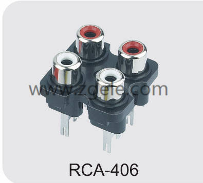 High quality radio connector factory,RCA-406