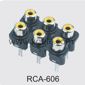 High quality ar radio adapter brands,RCA-606