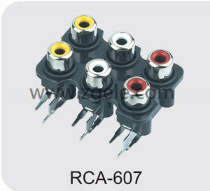 Low price types of rca cables exportes