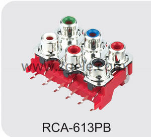 High quality rca to rca connector factory