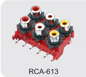 Low price rca jack supplier