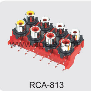 High quality rca video cable factory,RCA-813