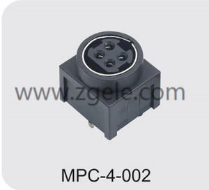 china 4 pin din power connector manufactures