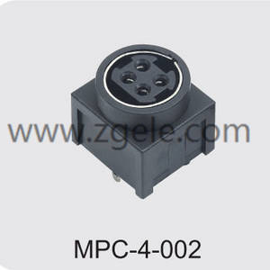 china 4 pin din power connector manufactures,MPC-4-002